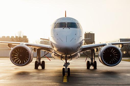 Le plaisir de voyager par avion